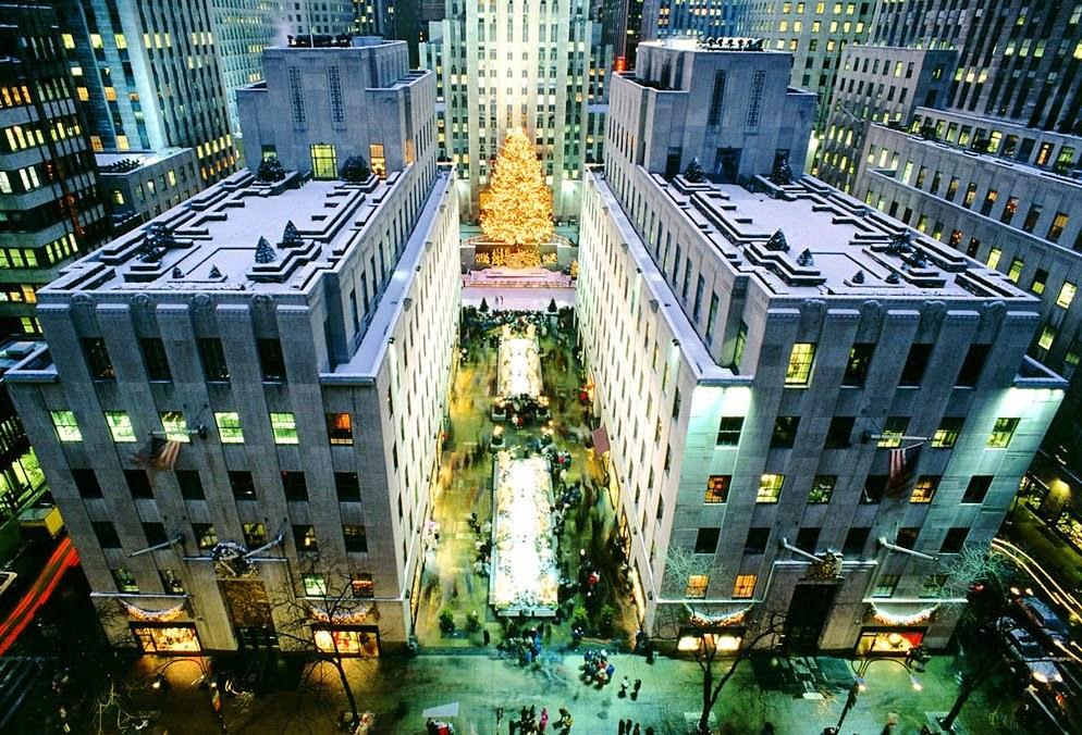 Complexo Rockefeller Center em Nova York