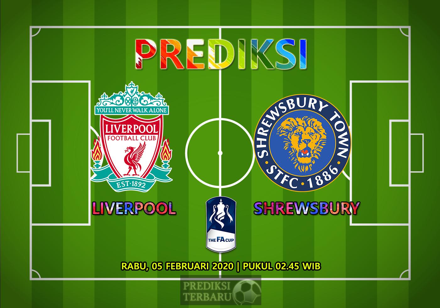 Prediksi Liverpool Vs Shrewsbury Town 05 Februari
