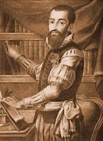 Retrato de Garcilaso de la Vega por José Maea y Bartolomé Vázquez