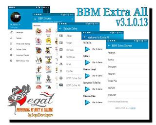 BBM Dual BBM1+BBM2+BBM3 MOD APK Versi Terbaru 3.1.0.13