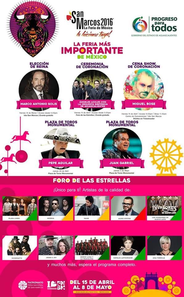 Feria San Marcos 2019: teatro del pueblo
