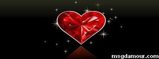 photo de  couverture facebook pour les amoureux avec coeur