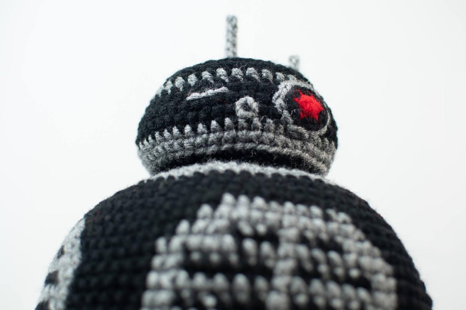 Star Wars Bb 9e Hat Free Crochet Pattern