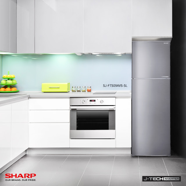 Keeping a Cool and Fresh Christmas with the new Sharp J Tech Inverter 2-Door Refrigerator