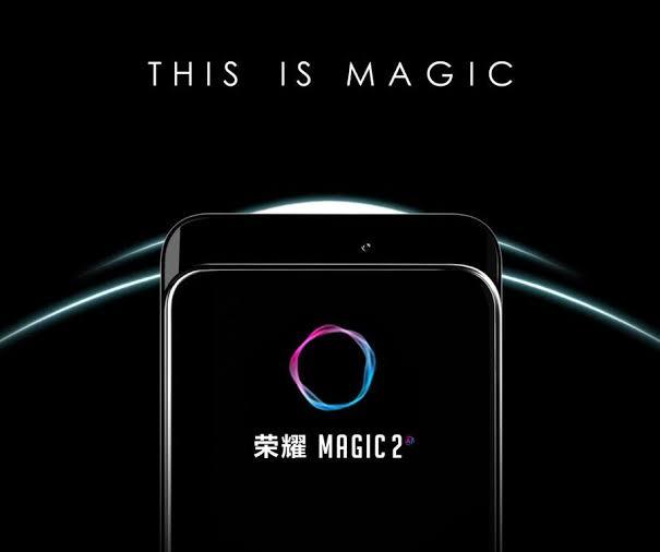 Honor Magic 2 slider