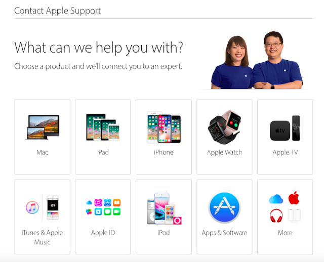Contact Apple Support Online