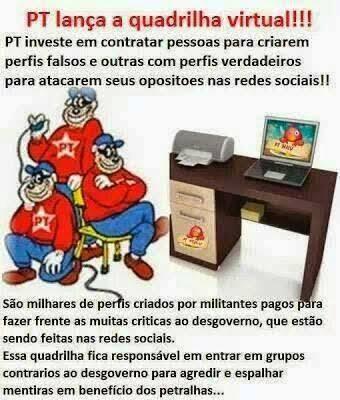 PT lança a quadrilha virtual!!!