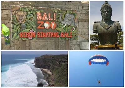 Paket Bali Zoo Kombinasi