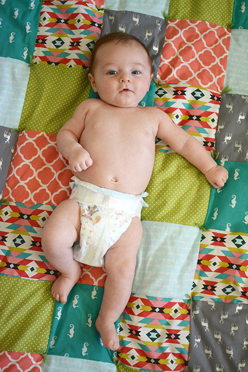 Ellis James, baby update - three months | My Darling Days