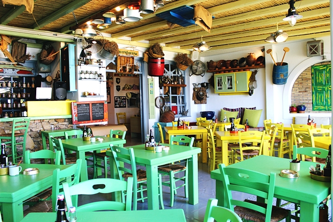 Koufonisia island restaurants and taverns