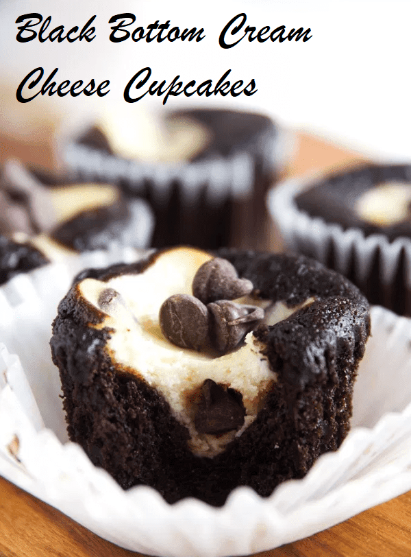 Black Bottom Cream Cheese Cupcakes