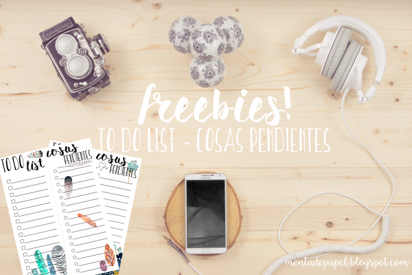 Freebies imprimibles: listas de cosas para hacer (to do lists)