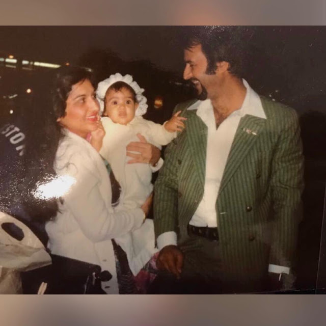 Dimple Sharma with Parents