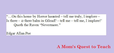 Quote from The Raven by Edgar Allan Poe