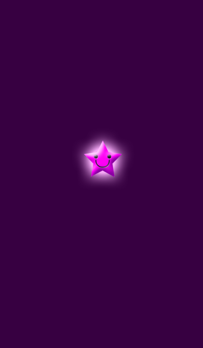 Simple star light pink
