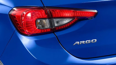 New 2017 Fiat Argo Taillight