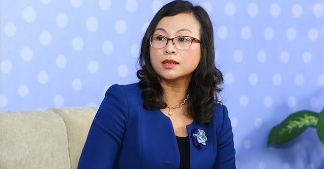 Bà Tống Thị Hạnh - Vụ trưởng Vụ pháp chế Bộ xây dựng