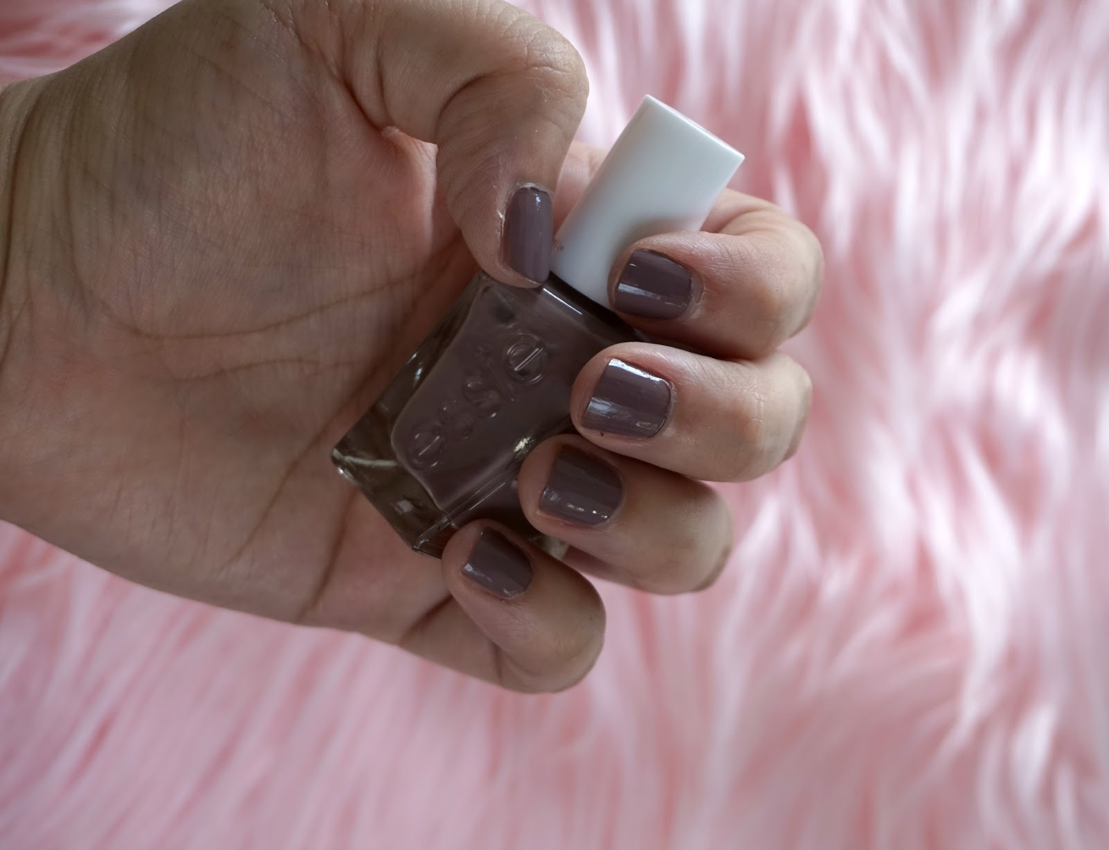 Essie Gel Couture Polish in Take Me To Thread | Best Nail Polishes To Wear All Year // Beauty With Lily, A West Texas Beauty, Fashion & Lifestyle Blog