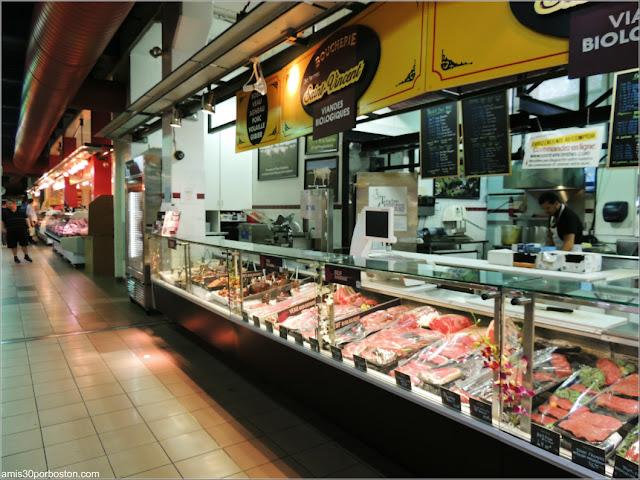 Interior del Mercado Atwater Market en Montreal
