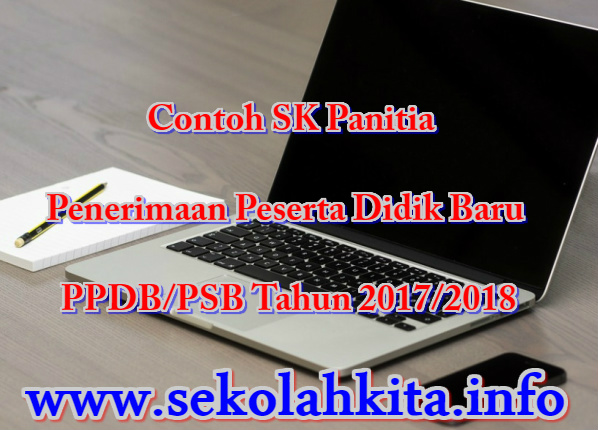 Contoh SK Panitia PPDB/PSB