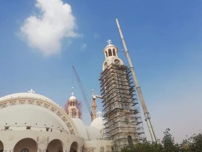 20 صورة ترصد كاتدرائية العاصمة الإدارية قبل افتتاحها الأحد