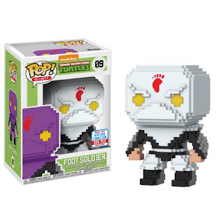 Pop! 8-Bit: TMNT – White Foot Soldier (500pc LE)
