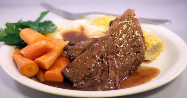 Overnight Pot Roast Recipe