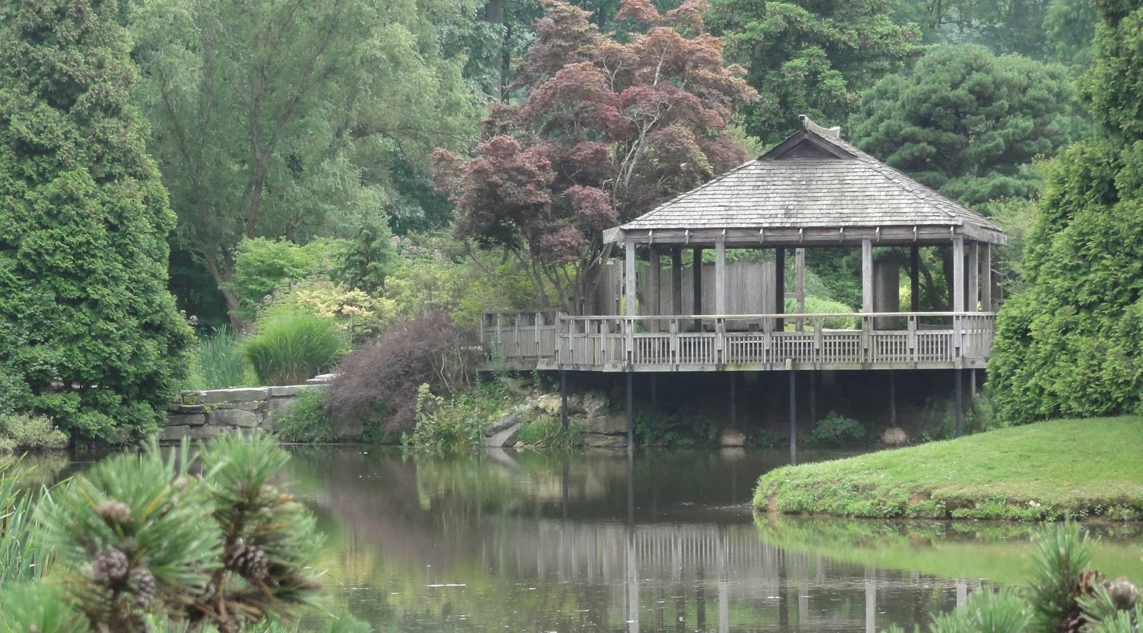 Behind A Garden Wall: Brookside Gardens, Wheaton, Maryland