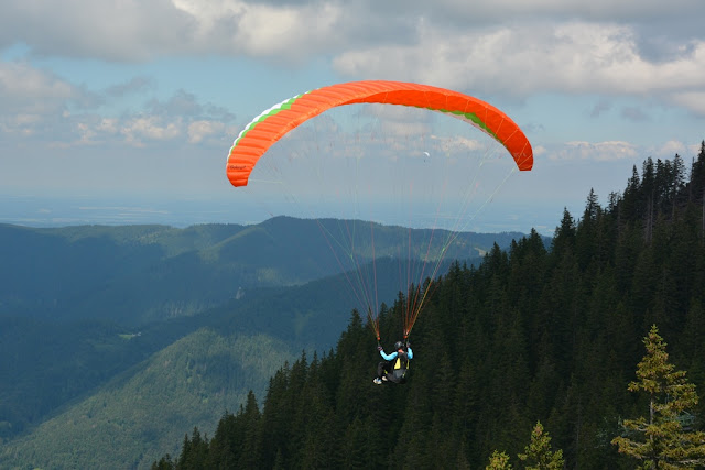 Paragliding Wallberg Tegernsee