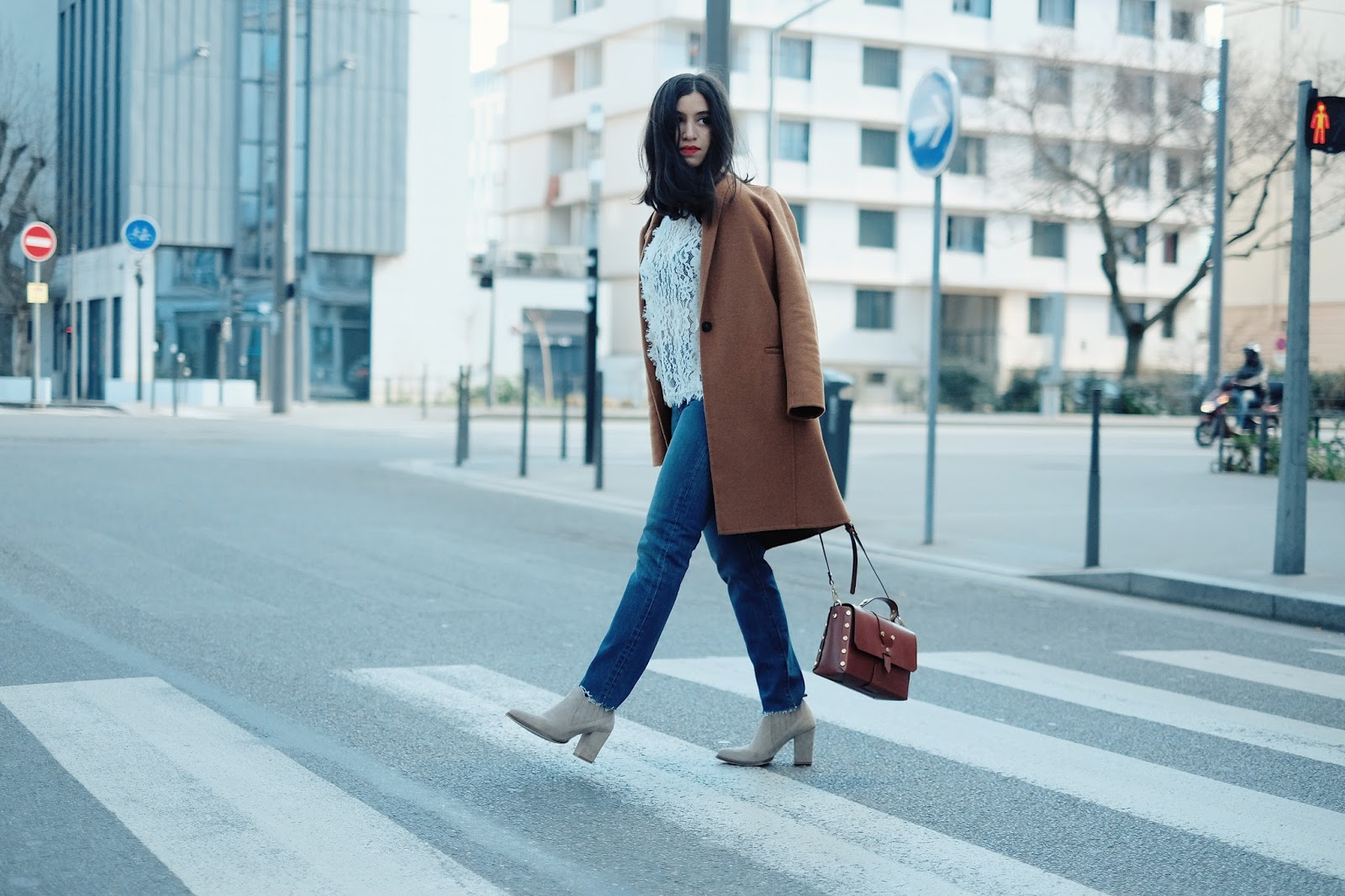 ameni daily, blog mode lyon, blog mode, amenidaily, blogueuse lyonnaise, comptoir des cotonniers, grace&mila, grace and mila, streetstyle, french blogger, blogueuse mode