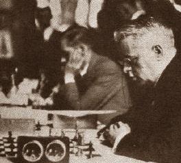 Marín y Ribera en la III Olimpiada de Ajedrez de Hamburgo 1930