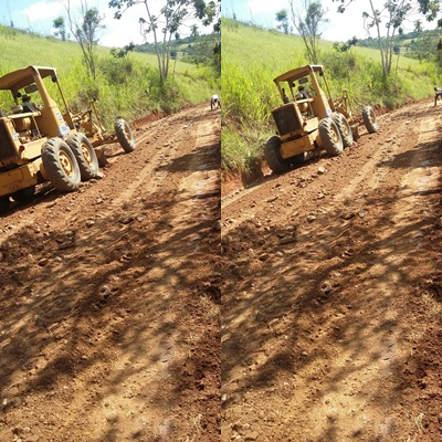 Secretaria Municipal de  Infraestrutura vem desenvolvendo uma série de ações encascalhado as estradas vicinais do nosso município