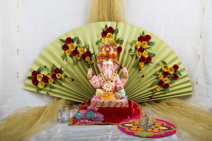 amazing ganesha decoration ideas for ganesh chaturthi festival with