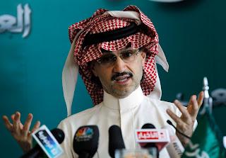 Profil Pangeran Alwaleed bin Talal bin Abdul Aziz Al Saud