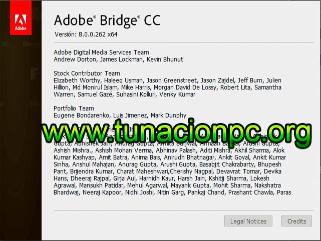 Adobe Bridge CC 2018 para Windows y Mac