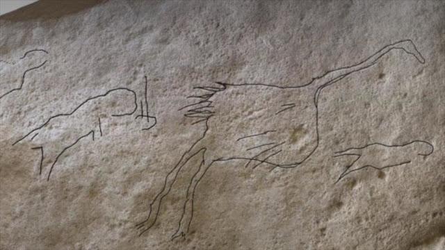 Hallan una pieza de arte paleolítico de hace 12 500 años
