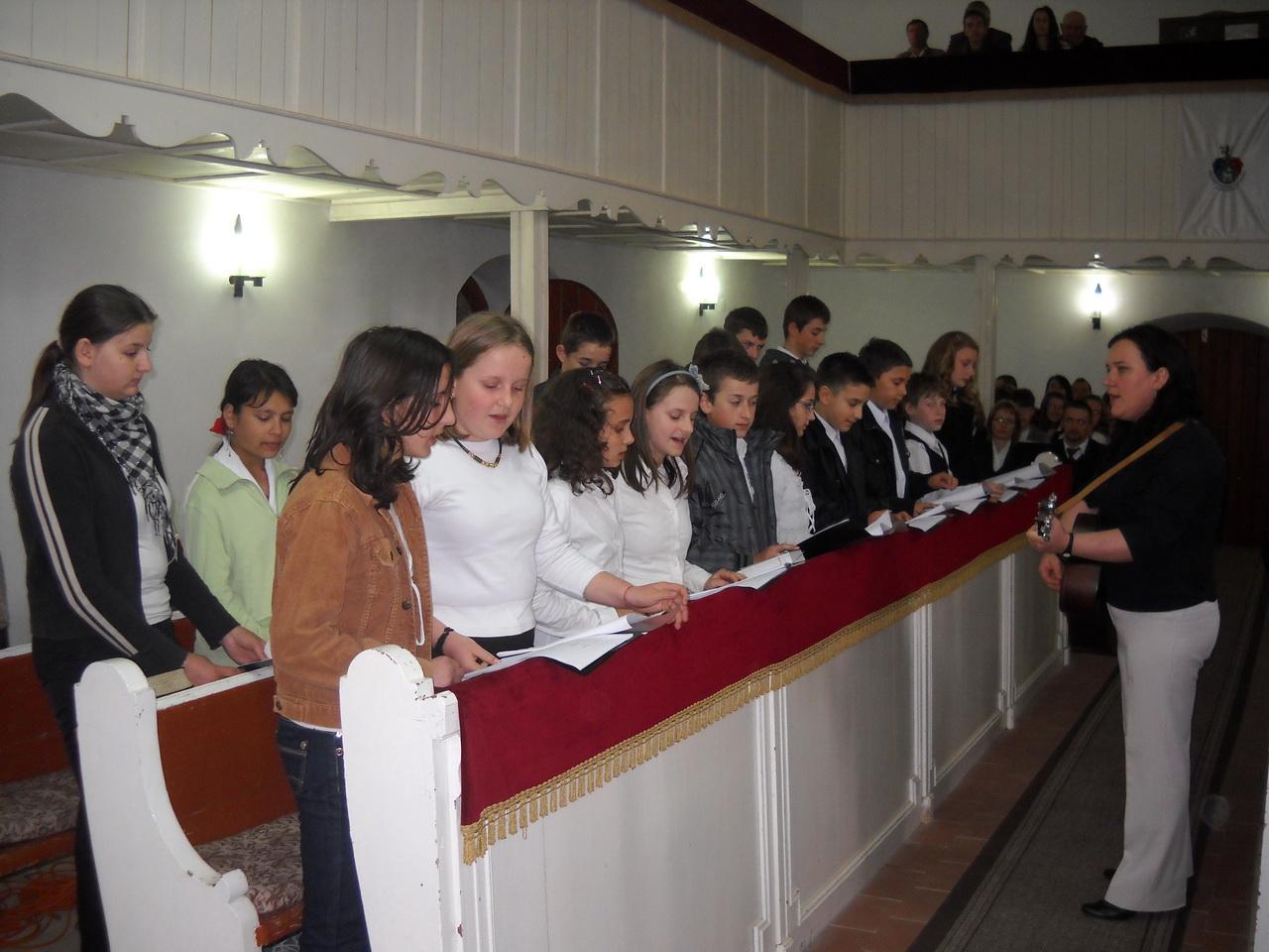 A kántor a liturgia résztvevője
