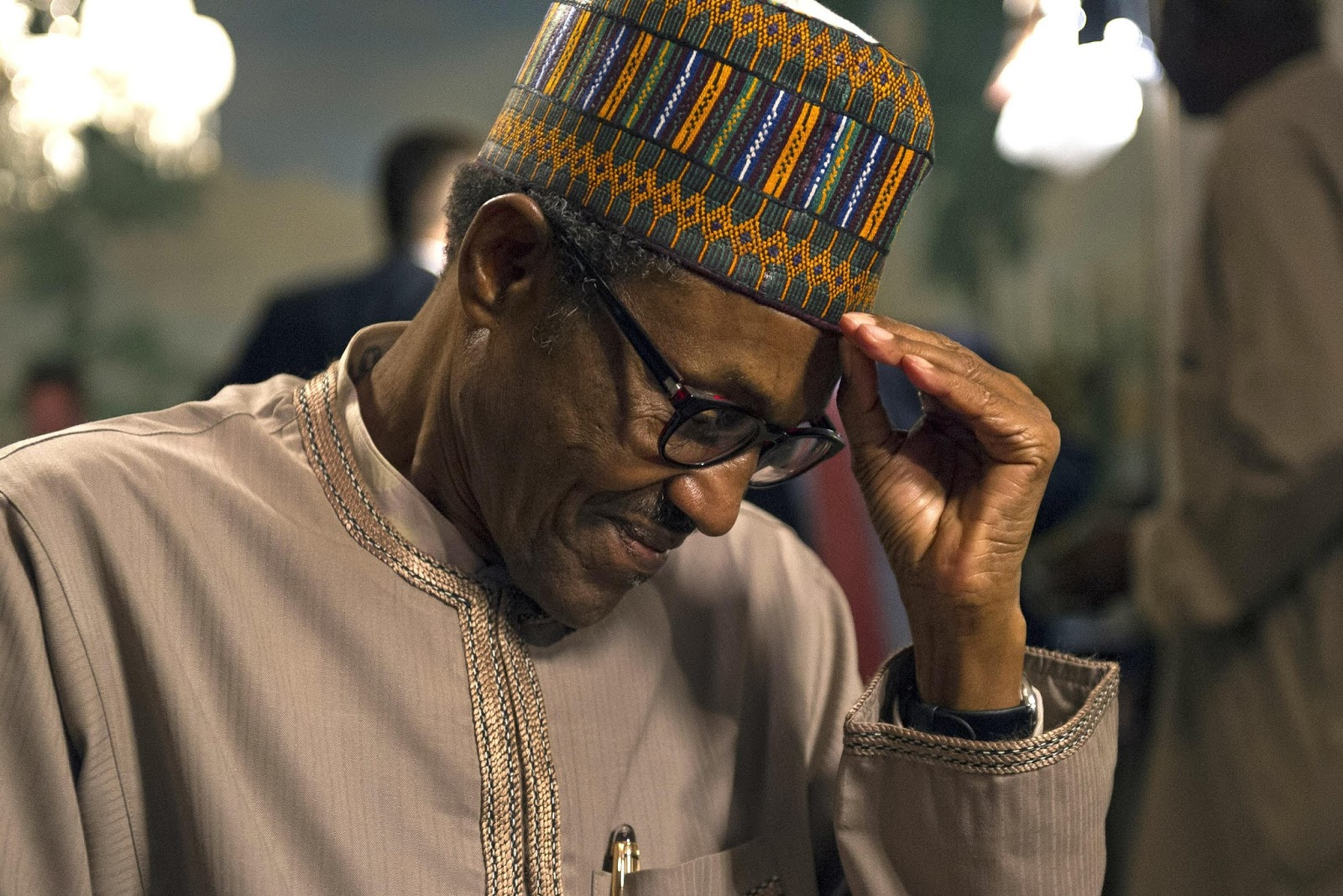 Image result for buhari tired