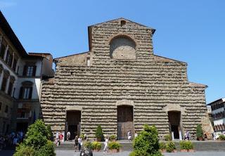 Iglesia de San Lorenzo en Florencia.