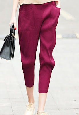 Model celana panjang kain wanita terbaru