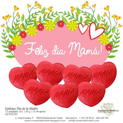 Dia de la Madre - Comercial H Martin - Galletas