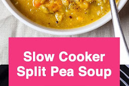 Slow Cooker Sweet Potato Split Pea Soup