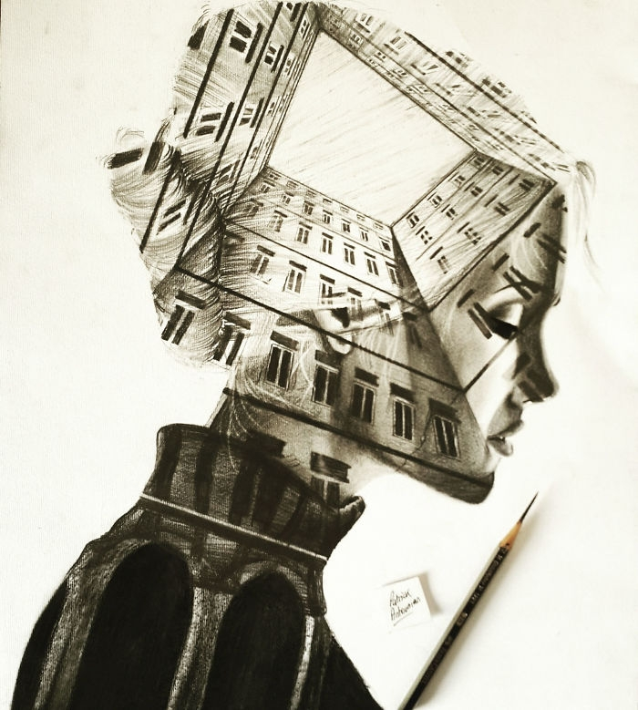 10-Apartments-Patrick-Antounian-Black-and-White-Double-Exposure-Drawings-www-designstack-co