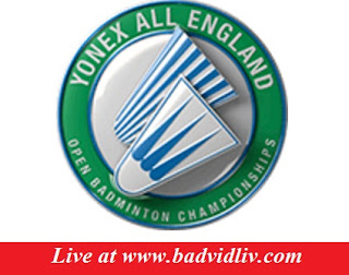 Yonex All England Open 2017 live streaming and videos