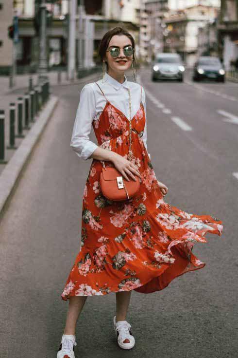 Como usar vestido longo no inverno