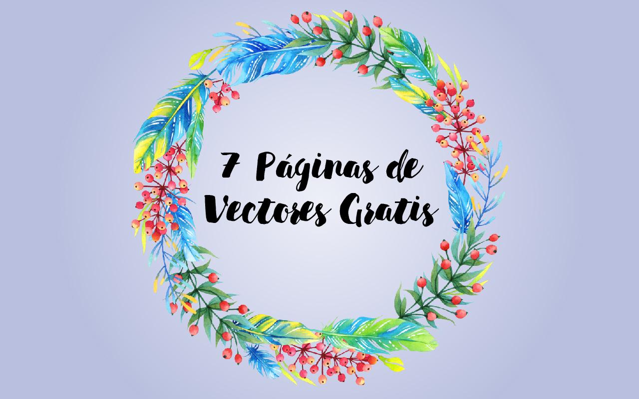 Fotos Y Vectores Gratis: 7 Páginas De Vectores Gratis.