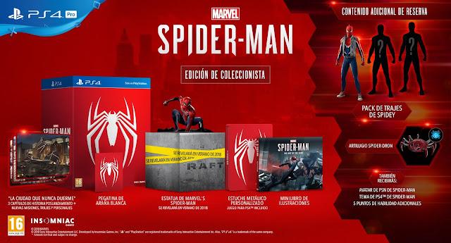 Spider-man saldrá el 7 de septiembre, ¡espectacular edición coleccionista!