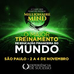 Evento Millionaire Mind Intensive São Paulo Novembro 2018