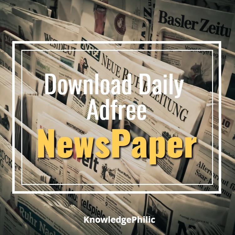 Pdf indian news paper
