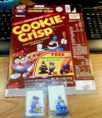 Ralston Cookie Crisp Vintage Cereal PVC Premium Figures